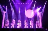 ペアでのキスシーン=AKB48のチーム8単独舞台「KISS KISS KISS」公開ゲネプロの模様 (C)ORICON NewS inc.
