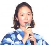 アニメーション映画『未来のミライ』初日舞台あいさつに出席した黒木華 (C)ORICON NewS inc.
