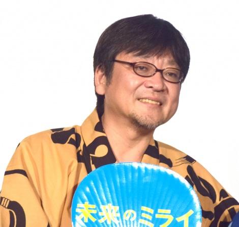 アニメーション映画『未来のミライ』初日舞台あいさつに出席した細田守監督 (C)ORICON NewS inc.