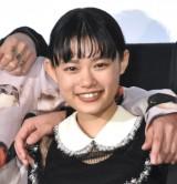 映画『BLEACH』公開記念舞台あいさつに出席した杉咲花 (C)ORICON NewS inc.
