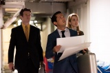 テレビ朝日系『ハゲタカ』より。ホライズンジャパン・パートナーズの社員、リン・ハットフォード役の太田緑ロランス(C)テレビ朝日