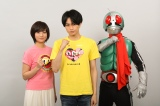 木村文乃(右)、『24時間テレビ』ドラマで中島健人(中央)と初共演(C)石森プロ・東映