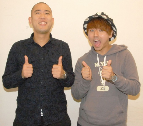 コロコロチキチキペッパーズの(左から)ナダル、西野創人 (C)ORICON NewS inc.