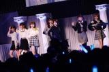 ラストアイドル2ndシングル発売記念コンサートで急遽メンバー3人が卒業発表。写真は卒業する吉崎綾、古賀哉子が所属するLaLuce