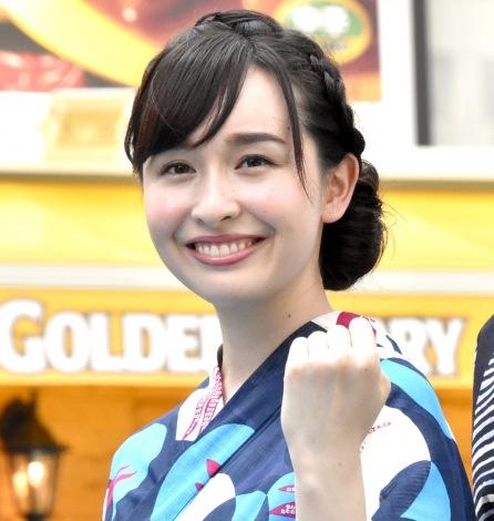『TBS夏サカス2018 デジタル&グルメパーク』に登場した宇賀神メグアナウンサー (C)ORICON NewS inc.