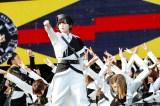 欅坂、平手復活ライブで新曲初披露 (18年07月22日)
