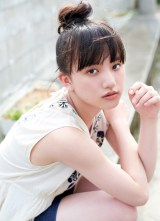 『週刊プレイボーイ』32号に登場した清原果耶 (C)熊谷貫/週刊プレイボーイ