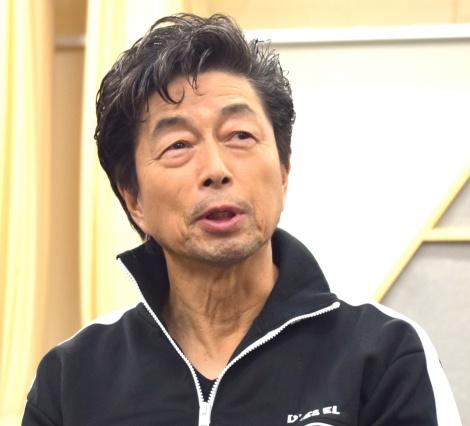 音楽劇『KOKAMI@network vol.16「ローリング・ソング」』の公開けいこに参加した中村雅俊 (C)ORICON NewS inc.