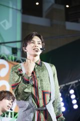 4号車タクヤ=『コカ・コーラ SUMMER STATION 音楽LIVE』より Photo by 深野輝美