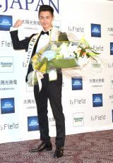 『2018-ミスター・ジャパン』のグランプリに輝いた滝村剛さん