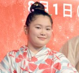 Netflixオリジナルシリーズ『宇宙を駆けるよだか』プレミア試写会イベントに出席した富田望生 (C)ORICON NewS inc.
