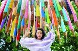 """『大地の芸術祭 越後妻有アートトリエンナーレ』を巡る、""""創作あーちすと""""ののん 撮影:RYUGO SAITO"""