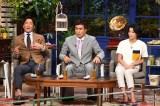 7月25日放送、テレビ朝日系『ザワつく!一茂良純ちさ子の会』(左から)長嶋一茂、石原良純、高嶋ちさ子。この3人が集まれば向かうところ敵なし!? (C)テレビ朝日