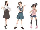 オリジナルビジュアルの三姉妹(c)プロジェクト シンカリオン・JR-HECWK/超進化研究所・TBS (c)カラー