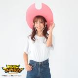 『デジモン』ミミの帽子を身に着けていたモデル (C)本郷あきよし・東映アニメーション