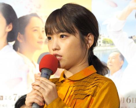 ドラマ『夕凪の街 桜の国』の試写会に出席した川栄李奈 (C)ORICON NewS inc.