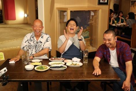 28日放送のバラエティー番組『実は○○で食べてます』の模様(C)カンテレ