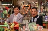 28日放送のカンテレ『おかべろ』にゲスト出演する野口五郎、岡村隆史 (C)カンテレ