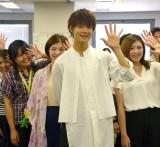 オリコン本社に来社して映画『青夏 きみに恋した30日』をPRした佐野勇斗 (C)ORICON NewS inc.
