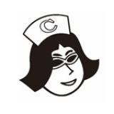 デカビタCのブランドキャラクター、ビタ子のスタンダードタイプ「普通ビタ子」