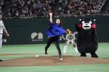 『サントリー ドリームマッチ 2018』の始球式を務めた石原さとみ (C)ORICON NewS inc.