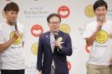 ルミネtheよしもとのステージに立った経済産業省・世耕弘成大臣