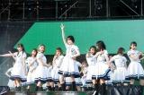 「サイレントマジョリティー」=欅坂46 野外ワンマンライブ『欅共和国2018』より 撮影:上山陽介