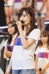 NMB48全国ツアー初日に卒業発表した山本彩(C)NMB48