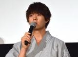 映画『青夏 きみに恋した30日』の前日祭舞台あいさつに出席した佐野勇斗 (C)ORICON NewS inc.