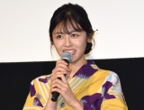 映画『青夏 きみに恋した30日』の前日祭舞台あいさつに出席した古畑星夏 (C)ORICON NewS inc.