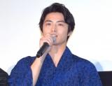 映画『青夏 きみに恋した30日』の前日祭舞台あいさつに出席した岐洲匠 (C)ORICON NewS inc.