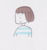 益田ミリ氏の自画像