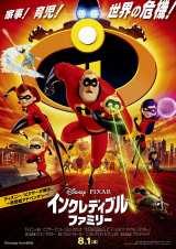 ディズニー/ピクサー映画『インクレディブル・ファミリー』(8月1日より公開中) (C)2018 Disney/Pixar. All Rights Reserved.