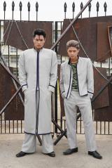 ドラマ『今日から俺は!!』に出演する鈴木伸之(左)&磯村勇斗のビジュアルが公開に(C)日本テレビ