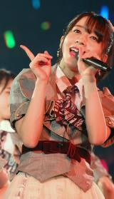 佐々木優佳里=『AKB48グループ感謝祭〜ランクインコンサート〜』初日 (C)ORICON NewS inc.