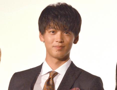 映画『センセイ君主』公開初日舞台あいさつに出席した竹内涼真 (C)ORICON NewS inc.