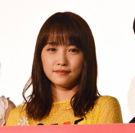 映画『センセイ君主』公開初日舞台あいさつに出席した川栄李奈 (C)ORICON NewS inc.
