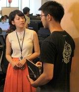 8月4日放送回のゲスト・小泉文明氏が取締役社長兼COOを務めるメルカリに潜入取材(C)テレビ東京系