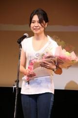 第12回『81オーディション』授賞式の藤縄郁花さん(C)Deview
