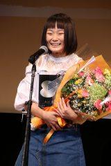 第12回『81オーディション』授賞式の山一茉希さん(C)Deview