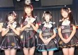 「掃除が大事」CD発売記念イベントに出席した(左から)七瀬みゆ、羽田野栞、卯知手のこ、美月 (C)ORICON NewS inc.