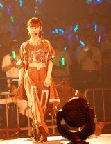 「Show fight!」を披露した総選挙7位・武藤十夢=『AKB48グループ感謝祭〜ランクインコンサート』の模様 (C)ORICON NewS inc.