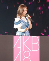 夏曲メドレーを披露した高橋朱里=『AKB48グループ感謝祭〜ランクインコンサート』の模様 (C)ORICON NewS inc.