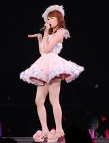 総選挙14位の吉田朱里=『AKB48グループ感謝祭〜ランクインコンサート』の模様 (C)ORICON NewS inc.