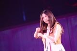 自ら髪を切り落とした古畑奈和=『AKB48グループ感謝祭〜ランクインコンサート』の模様(C)AKS
