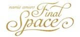 安室奈美恵の軌跡をたどる展覧会『namie amuro Final Space』ロゴ