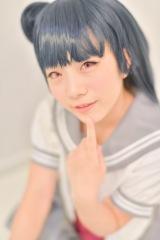 羽花さんは『ラブライブ!サンシャイン!!』津島善子のコスプレで参加(C)oricon ME inc.