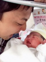第1子女児誕生を報告した初恋タローこうすけ(写真はTwitterより)