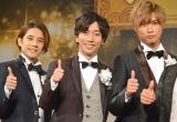 A.B.C-Z(左から)五関晃一、河合郁人、橋本良亮 (C)ORICON NewS inc.