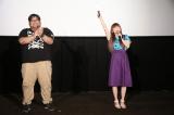 『劇場版ポケットモンスター みんなの物語』応援上映会のトークショー(C)Nintendo・Creatures・GAME FREAK・TV Tokyo・ShoPro・JR Kikaku (C)Pok?mon(C)2018 ピカチュウプロジェクト